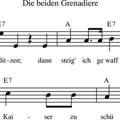 Die beiden Grenadiere, p. 3/3